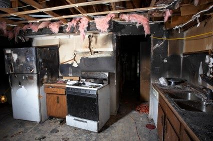 Fire damage repair by Tri State Flood Inc