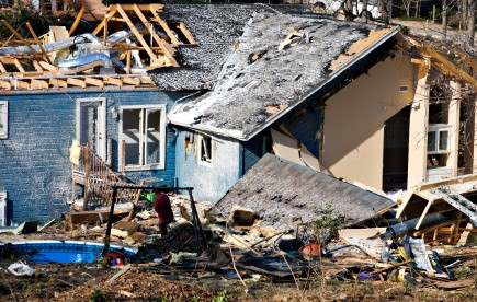 Natural Disaster Reconstruction Services in Levittown by Tri State Flood Inc